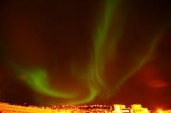 lights northern Στοκ φωτογραφία με δικαίωμα ελεύθερης χρήσης