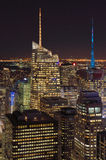 The lights of the NYC. Stock Photography