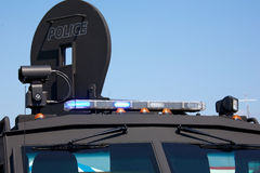 Lights On An Armoured Police Vehicle Royalty Free Stock Images
