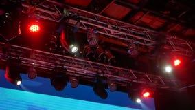 Lights oncert music stock video footage