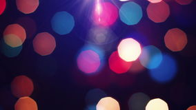 Lights Out of Focus. Holiday background. Stock Photography