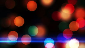Lights Out of Focus. Holiday background. Royalty Free Stock Image