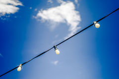 Lights over Barca Royalty Free Stock Images