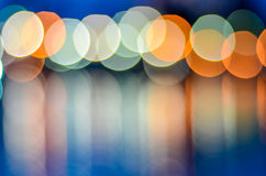 Lights Over The Water Royalty Free Stock Photography