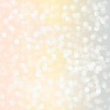 Lights on pastel background. Stock Images