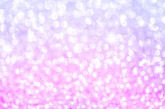 Lights on pink with star bokeh background. Stock Image