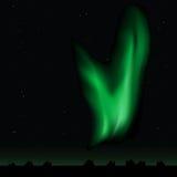 lights polar Στοκ Φωτογραφία