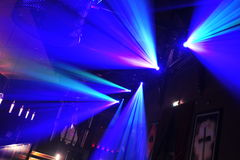 lights ray Στοκ φωτογραφία με δικαίωμα ελεύθερης χρήσης