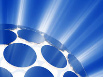 lights ray sphere Ελεύθερη απεικόνιση δικαιώματος