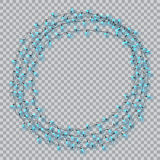 Lights realistic design elements. Garlands decorations. Led neon lamp Royalty Free Stock Image