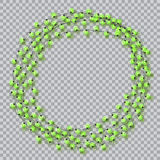 Lights realistic design elements. Garlands decorations. Led neon lamp Stock Images