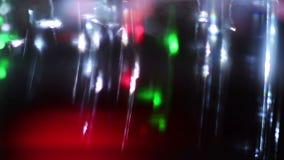 Lights reflecting on vinyl stock footage
