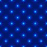Lights seamless pattern Stock Photography