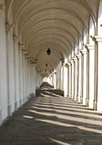 Lights and shadows of the great architectural arcades Royalty Free Stock Photos