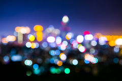 Lights in soft focus. Royalty Free Stock Photos