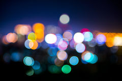 Lights in soft focus. Royalty Free Stock Image