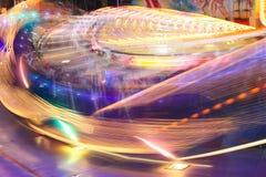 lights spinning Στοκ εικόνες με δικαίωμα ελεύθερης χρήσης