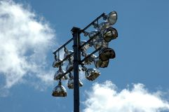 lights stadium Στοκ εικόνες με δικαίωμα ελεύθερης χρήσης