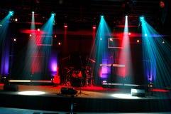 lights stage Στοκ φωτογραφίες με δικαίωμα ελεύθερης χρήσης