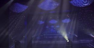 lights stage Στοκ φωτογραφία με δικαίωμα ελεύθερης χρήσης