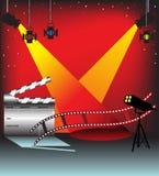 lights stage απεικόνιση αποθεμάτων