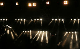 lights stage Στοκ Φωτογραφίες
