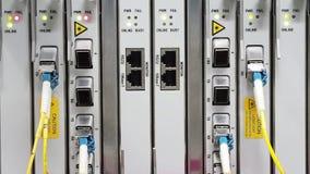 Lights status of Transmission stock video
