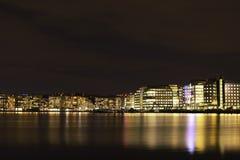 Lights in Stockholm Stock Image