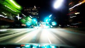 Lights Streaks Through Tunnel stock video
