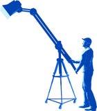 Lights Technician. Vector illustration of Lights Technician Stock Photography