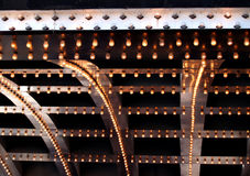 lights theatre Στοκ Φωτογραφίες