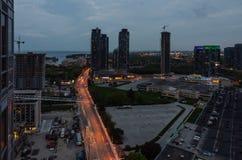 Lights of Toronto Royalty Free Stock Photo