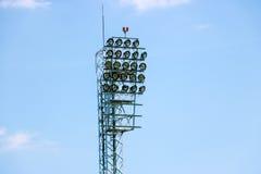 Lights tower Stock Image