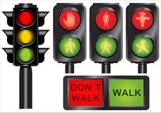 lights traffic Στοκ φωτογραφίες με δικαίωμα ελεύθερης χρήσης