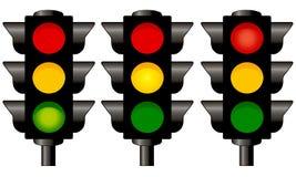 lights traffic Στοκ Εικόνες