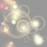 Lights transparent vector Royalty Free Stock Photo