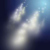 Lights underneath the water illustration Royalty Free Stock Photos