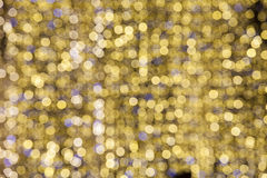 Lights unfocused. Decorations for holidays Royalty Free Stock Photo