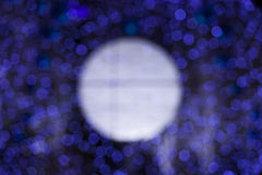Lights unfocused. Decorations for holidays Stock Photography