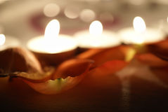 Lights of Valentine's Day Stock Photos