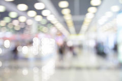 Lights of waiting hall in airport Royalty Free Stock Images