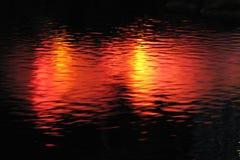 lights in water, Las Vegas 20 royalty free stock image
