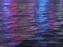 Lights on Water stock photography