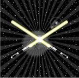lightsaber向量 免版税库存图片