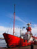 Lightship 2000 in Cardiff Bay, Wales Royalty Free Stock Photo