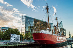 Lightship Chesapeake Stock Photos