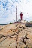 Lightship monument Oregrund Royalty Free Stock Images