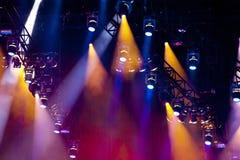 Lightshow Foto de Stock Royalty Free