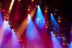Lightshow Lizenzfreies Stockfoto