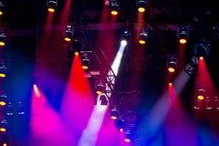 Lightshow Stock Image